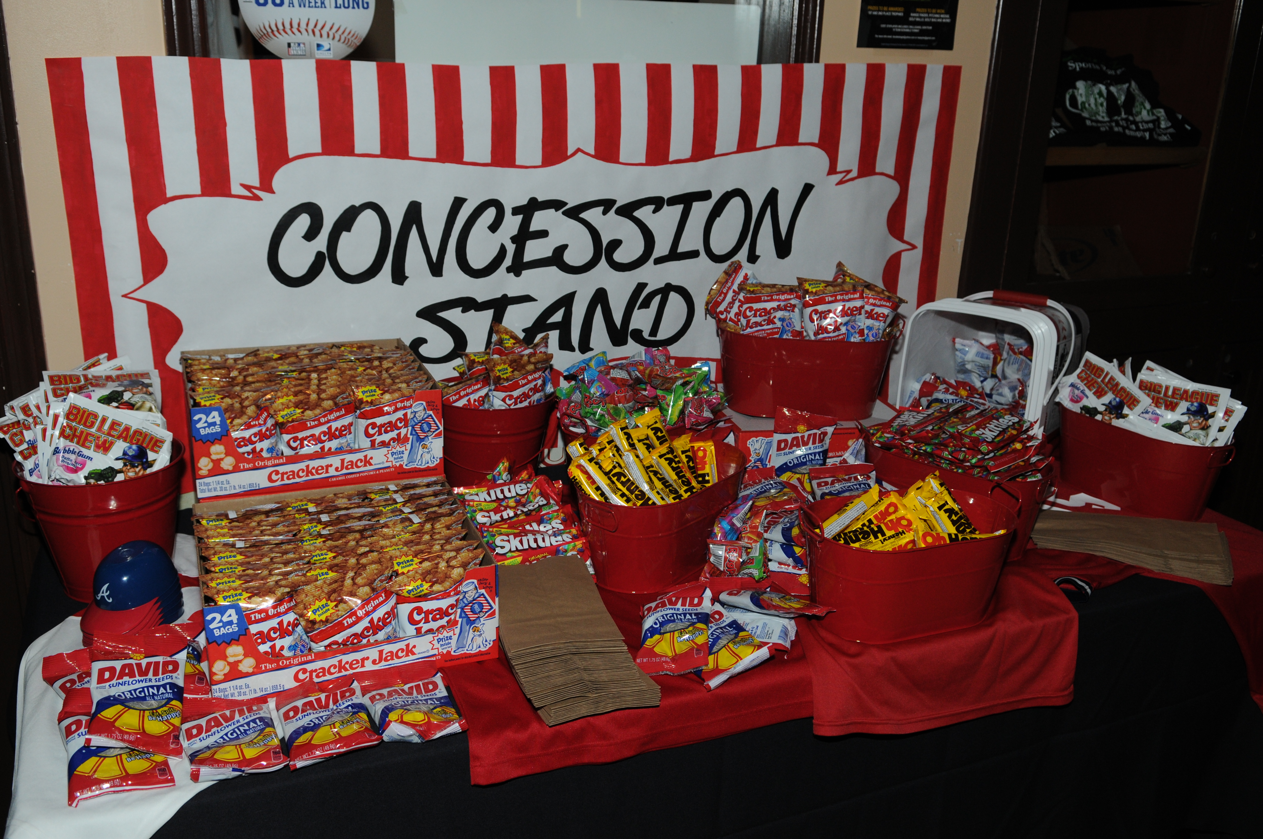POPCORN BANNER SIGN stand cart concession signs kettle ... |Concession Stand Signs