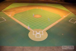 Baseball Field Dance Floor
